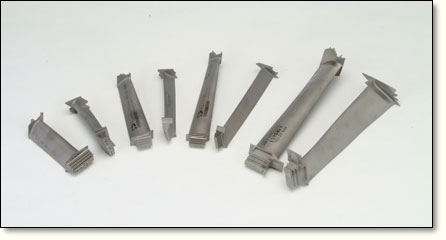 Densified Castings for Aircraft Turbine Blades  Structural